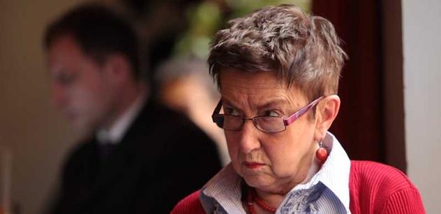 Socioložka Šiklová v ráži: Kritika opozice? Jako když do nemocnice dovážejí zraněné z bouračky a nějaký blb řeší, že nejsou vyklepané rohožky!