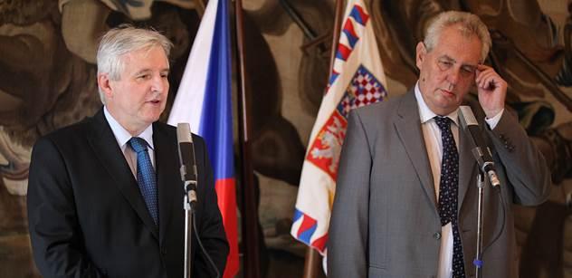 Pravicový novinář: Miloš Zeman bohužel úspěšně oslabil politické protivníky