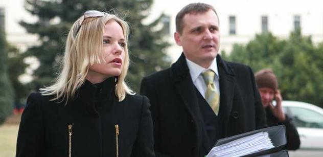 Hvězdou týdne je Kačenka, vyhlásil Vít Bárta. Příště ji prý dožene