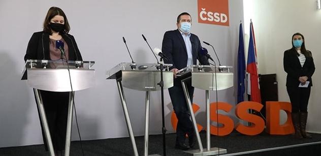 ČSSD chce více peněz pro ty, kteří dodržují pravidla