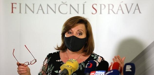 Ministryně Schillerová: Teď je ta doba, kdy bychom měli pomoci lidem a napumpovat do nich peníze
