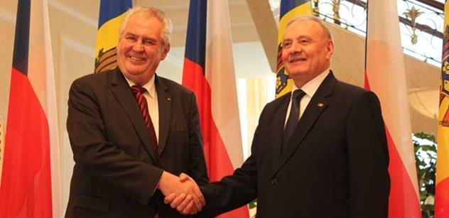 Zeman se přesunul z Rumunska do Moldavska. Zahájí podnikatelský seminář