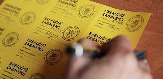 Paggio šlápl na exekutory. Za dluh 12 korun už nebudou mít 17 tisíc odměnu