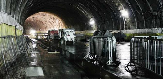 Metrostav po téměř pěti měsících obnoví stavbu tunelu Blanka