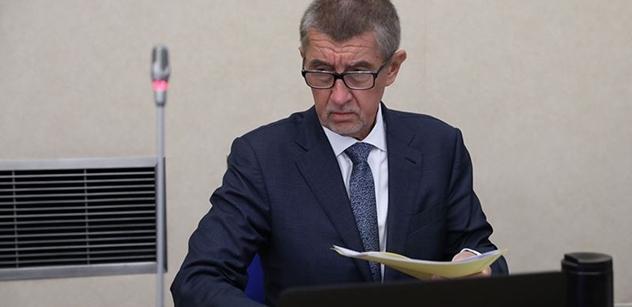 Premiér Babiš: Chci bojovat proti zelené Evropské unii
