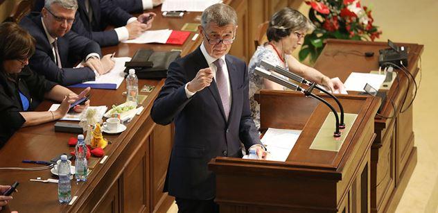 Opoziční strany předloží návrh na vyslovení nedůvěry vládě