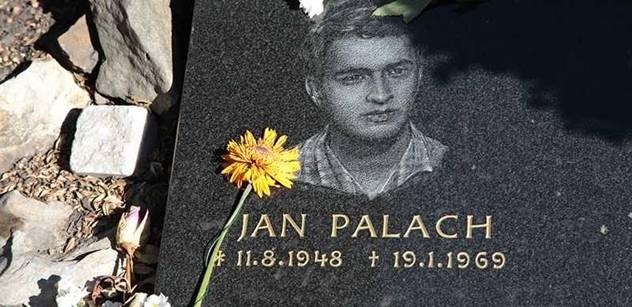 Jan Palach bude mít svůj významný den