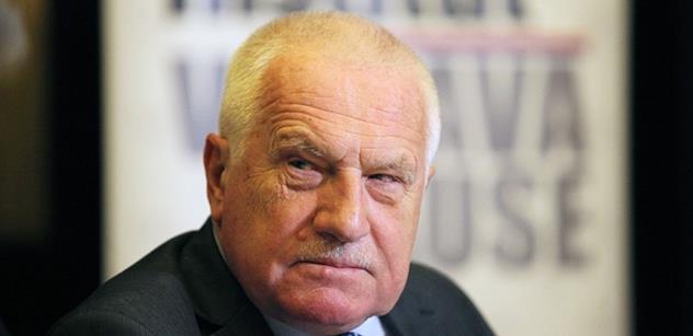 Václav Klaus: Spor o Benešovu politiku, dílo a odkaz je sporem o státnost, suverenitu a svobodu našeho národa