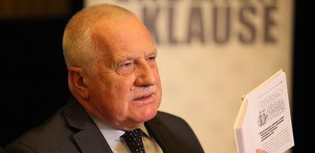 Václav Klaus sepsal zápisky z předvolebního Německa. Svěřil se s hrozivými zážitky