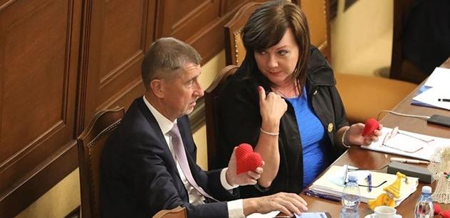 Schillerová: Jsem hrdá, že vláda má čisté svědomí