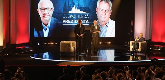 Prezidentští kandidáti se večer utkají v debatě na ČT