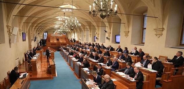 Vláda posoudí návrh na ustálení obvodů pro senátní volby