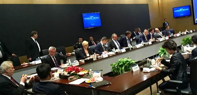 Průšvih? Poradce Miloše Zemana z Číny prý vyslýchán. Vyšetřována má být celá jeho firma, kterou tu zastupuje Tvrdík