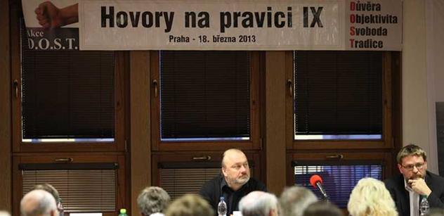 Pokakávání do plenek, české levičáctví a cesta k osobození. Klausovci se sešli a řešili budoucnost