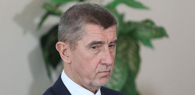 Ministr Babiš: Někdo tady páchá trestnou činnost na členy vlády, a vy se radujete