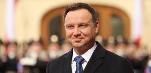 """Polská opozice napadla výhru Andrzeje Dudy u soudu. Prý mu pomohla """"obrovská státní mašinerie"""""""