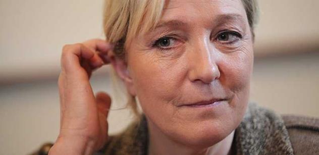 To není vtip: Le Penová míří za vítězstvím