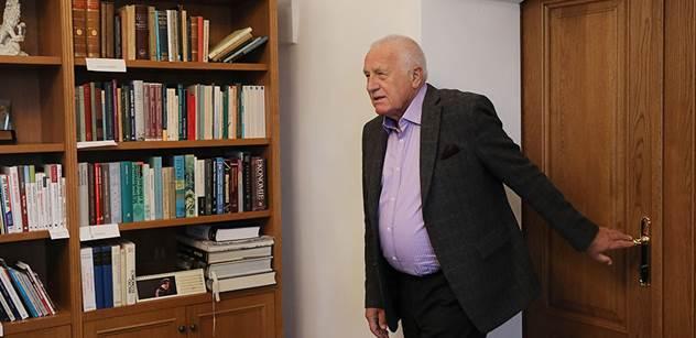 Marasmus, smělost, holé neštěstí! Václav Klaus promluvil o další kandidatuře na Hrad a na politické scéně zavládl poplach