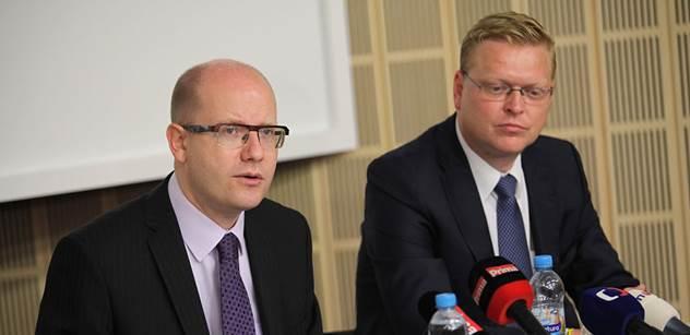 Sobotka podpoří kandidaturu Donalda Tuska na předsedu Evropské rady