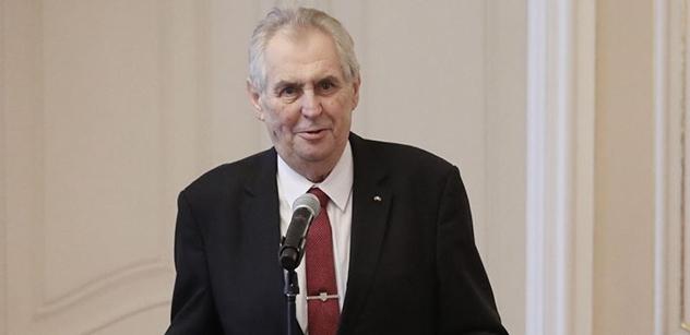 Prezident republiky přijal ústavní činitele ČR