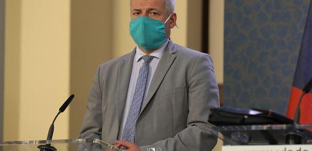 Ministr Prymula: Základním úkolem je stabilizovat stávající epidemiologickou situaci