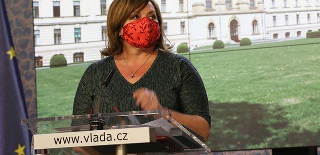 Ministryně Schillerová: Vláda schválila prodloužení programu COVID III