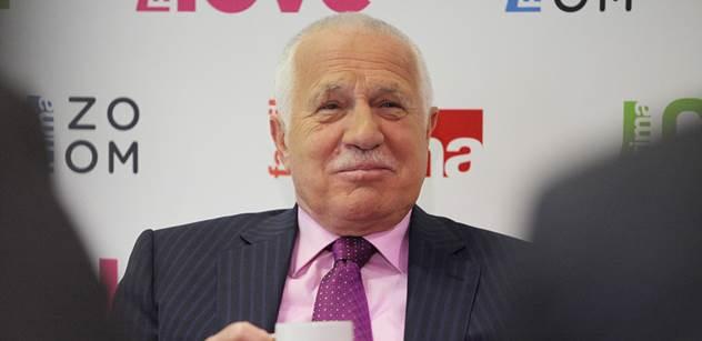 Václav Klaus: V těchto volbách kandidovat nebudu
