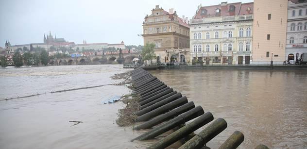 Praha řeší vymleté koryto na Císařském ostrově