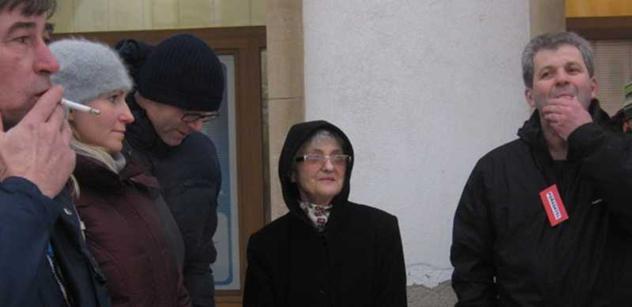 Klaus je gauner, padlo za účasti Mašínové při akci na podporu Smetany