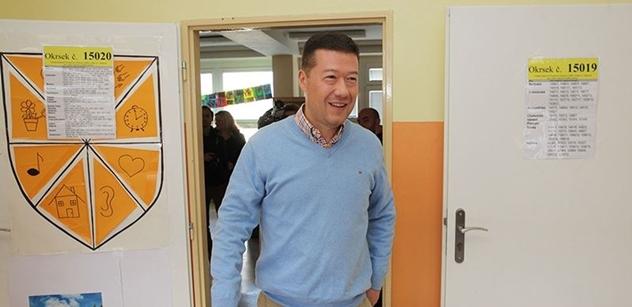 Publicista uvažoval o vyšinutých jedincích a nedemokratických kandidátech. Pak rozsekl debatu Okamura