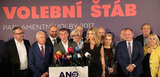 Jednání za hnutí ANO povedou Babiš, Faltýnek i Brabec