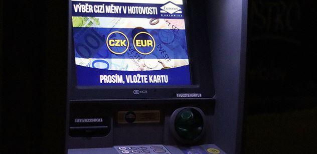 ČR má téměř 5 500 bankomatů, za průměrem EU však zaostává