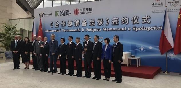 V Číně se plánuje významná spolupráce. Tamní finančníci mají pomoci severočeské energetické skupině