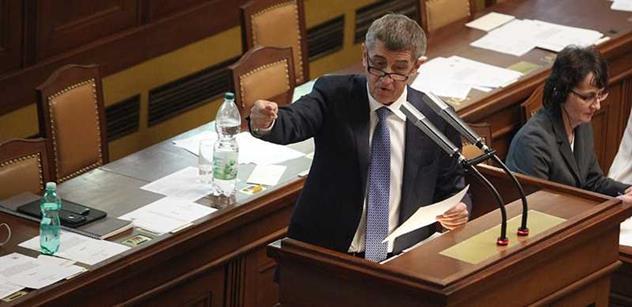Ministr Babiš: Já rád vrátím ty peníze Mafře, ale nechť Kalousek vrátí miliardy, co tu nakradl
