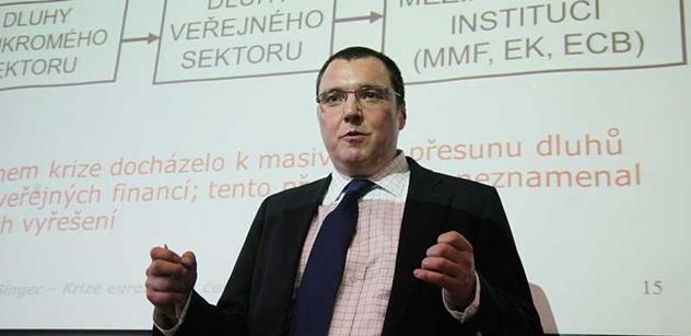Varování guvernéra ČNB: Do EU budeme už jen platit, žádné dotace. Jsme bohatí