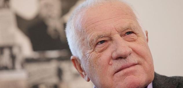 Václav Klaus: Strašení globálním oteplováním je jedním z hlavních témat současnosti