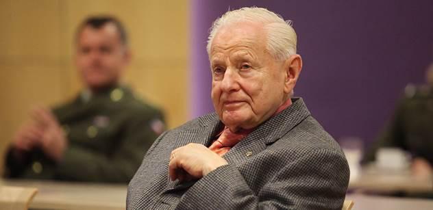 Pamětník dějin českého průmyslu Miroslav Grégr: Hrdinové jako pan Pithart dnes od počítače přesně vědí, co by v historii udělali. Miloš Zeman má můj obdiv