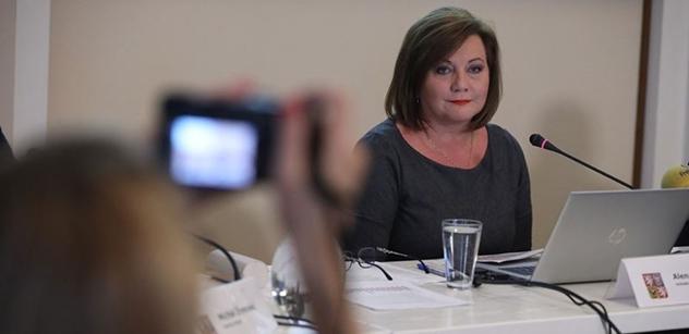Ministryně Schillerová: Nezbytná je maximální možná ochrana při nakládání s individuálními údaji občanů