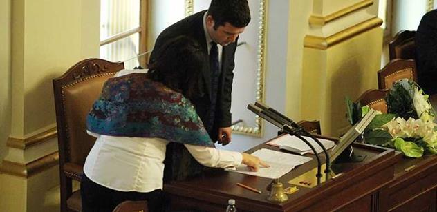 Němcová si vzala věci a šla pryč. Jejího nástupce bude možná bolet ruka