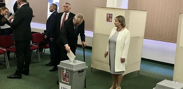 Prezident Zeman: Mám pro vás jediný vzkaz - Jděte k volbám