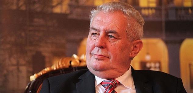 Přituhuje: Miloš Zeman je prý dement