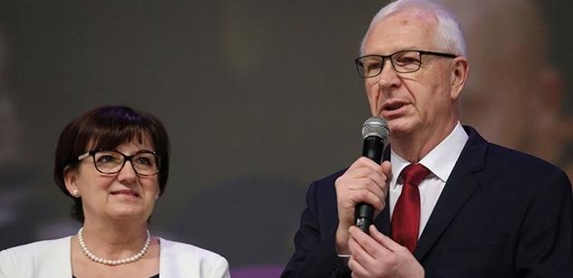 Předvolební rána Jiřímu Drahošovi od ženy, kterou velmi dobře zná: Je to politický diletant. O všedních problémech lidí nemluví, protože o nich nic neví. Jen naučené fráze
