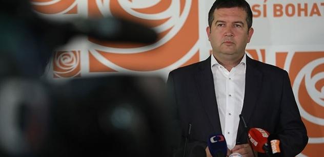 Jan Hamáček dostal další ránu z vlastní strany. Tentokrát od známého právníka. A zde je důvod