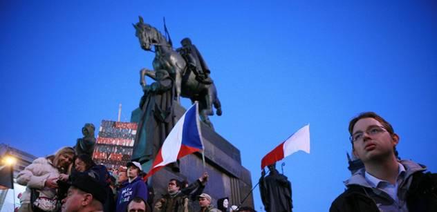Oleg Gubin: Na Václavském náměstí zavlála vítězná vlajka islandské revoluce