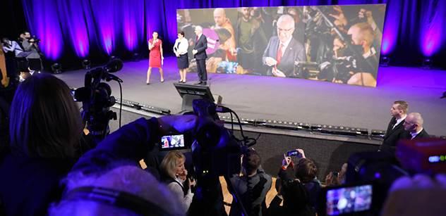 """VIDEO """"Sto sedmdesát tisíc lidí rozhodlo, že prezidentem bude usvědčený lhář! """" Mladý příznivec Drahoše pokřikoval ve štábu"""