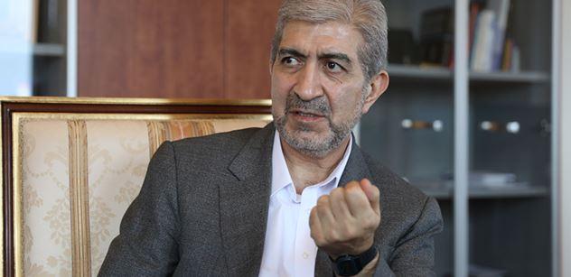 Velvyslanec Íránu v ČR: Když se amerického ministra zeptali na důkazy, odmlčel se. Žádné nemají. Žádná obžaloba, žádný soud, ale hned smrt