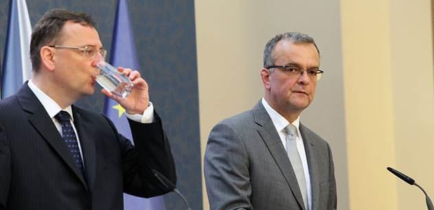 Protikorupčník setřel Nečase s Kalouskem: Policie nebude konat, jak si vy zrovna usmyslíte