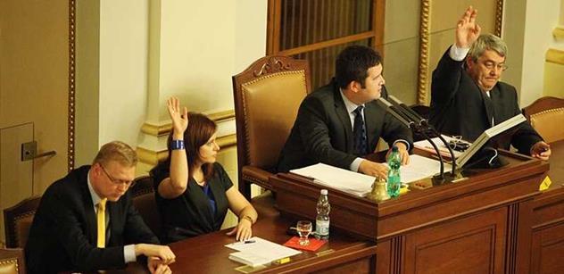 Trapná a pitomá. Takhle to schytala Babišova místopředsedkyně za zákaz alkoholu ve sněmovně. A Kalouska prý...
