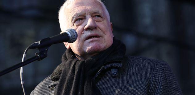 O tohle jde ve skutečnosti! Václav Klaus připomněl Rychetskému jeho vlastní činy před dvaceti lety