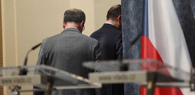 Vláda: Tři roky kabinetu Petra Nečase